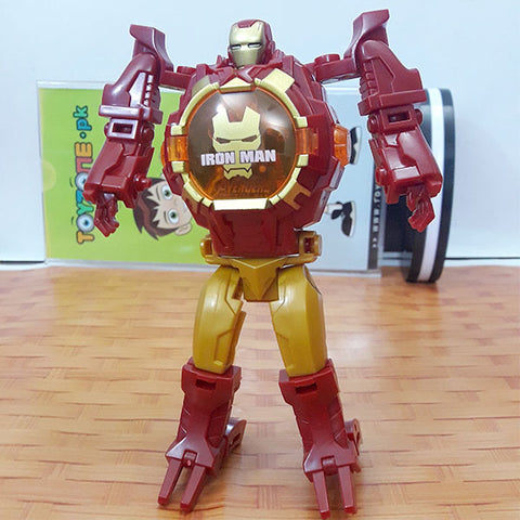 Super Hero Deformation Wrist Watch - Iron Man