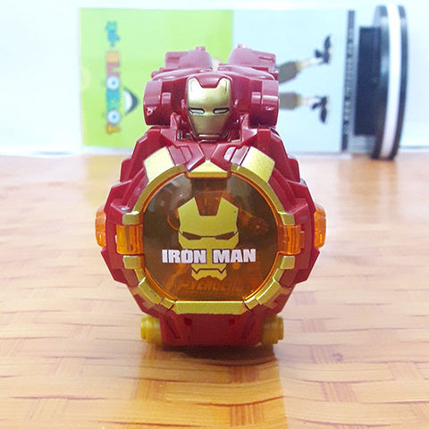 Image of Super Hero Deformation Wrist Watch - Iron Man