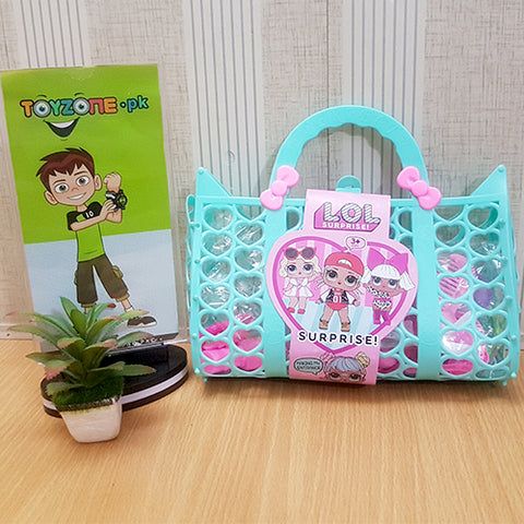 Girls Fashion LOL Bag in Pink - STO