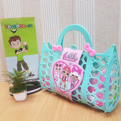 Image of Girls Fashion LOL Bag in Pink - STO