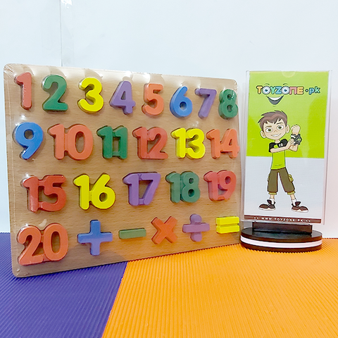 Image of Wooden Learning Board