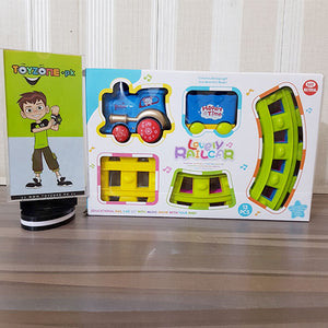 Lovely Racing Train Set (13pcs) - STO