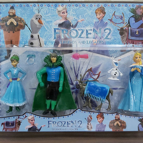 Disney Frozen Action Figures (Pack Of Five)