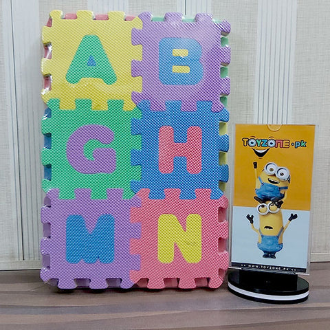 Activity Puzzle Playmats Numbers & Alphabets (Med)