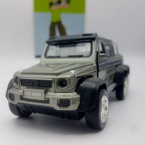 Image of Metal Diecast Mercedes-Benz Brabus G63 6x6