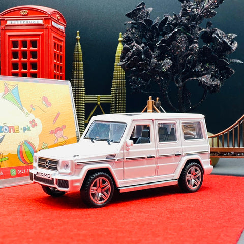 Metal Body Mercedes-Benz G65 1:32 SUV