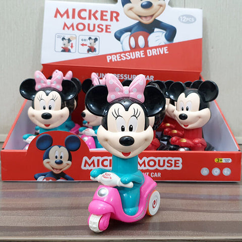 Mickey And Minnie Mouse Pressure Car