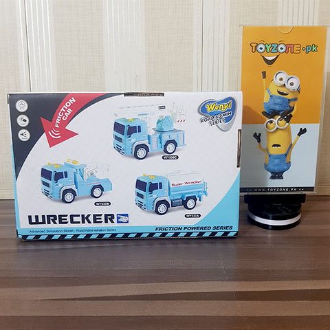 Friction Wrecker Truck With Light & Sound 1:20 Scale