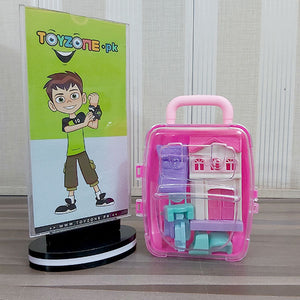 Miniature Doll House Suitcase