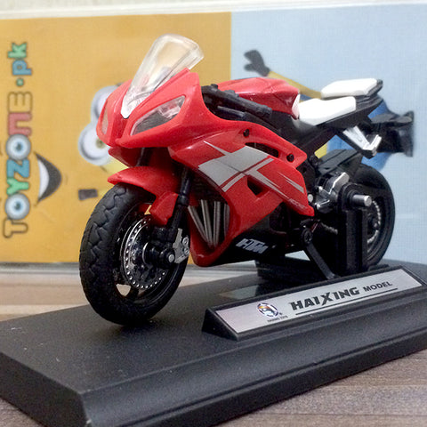 Image of Die-cast Model 1:18 Scale Motorcycle Ducati 1199 Panigale