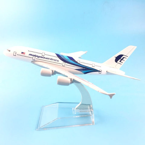 Metal Airplane - Malaysia Airlines