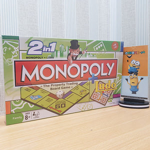 Monopoly 2 in 1 Board Game