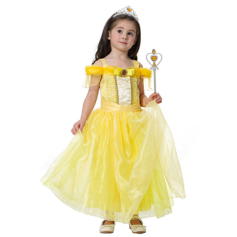 Yellow Beauty Princess Costume - STO