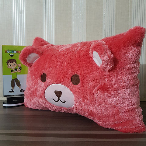 Image of Plush Soft- Bear Pooh ( Red Colour )