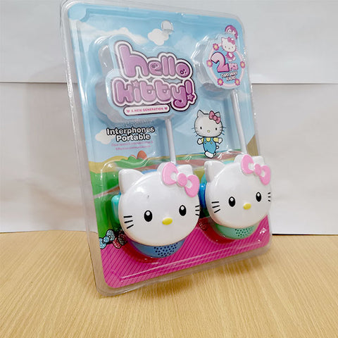 Image of Portable Interphone - Hello Kitty Walkie Talkie