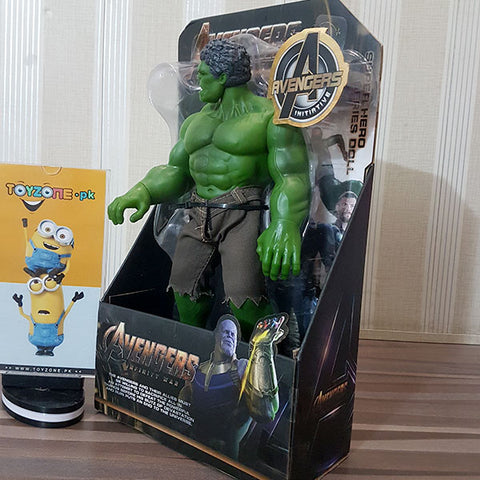Premium Rubberized Action Figure - Hulk