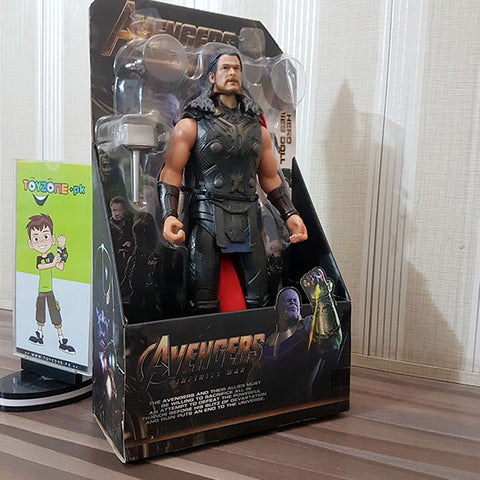 Image of Premium Rubberized Action Figure - Thor