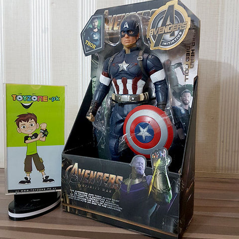 Premium Rubberized Action Figure - Captain America
