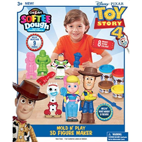 Cra-Z-Art Disney 3D Mold N Play Figure Maker
