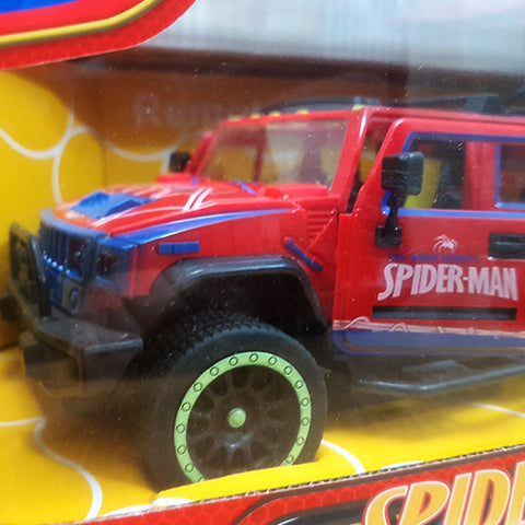 Image of Spiderman Remote Control Jeep