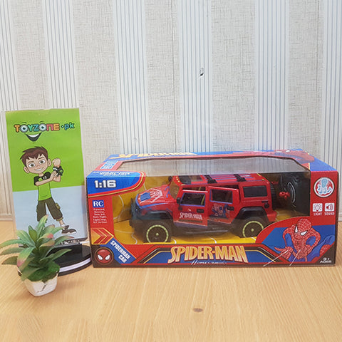 Spiderman Remote Control Jeep