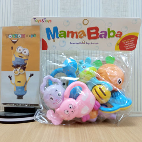 Image of Newborn Baby Rattles Set