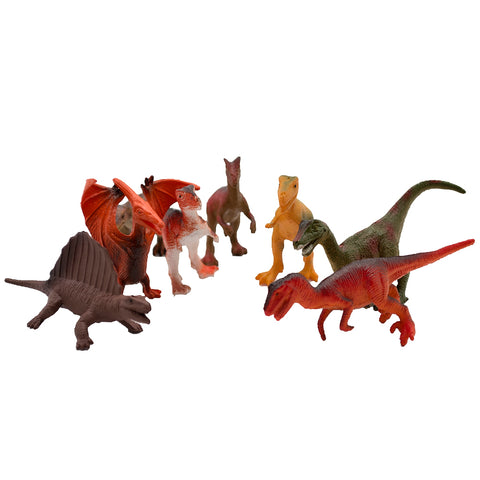 National Geographic Dinosaurs Small 8pc in Tube