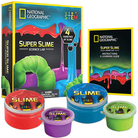 National Geographic Super Science Lab –  Slime