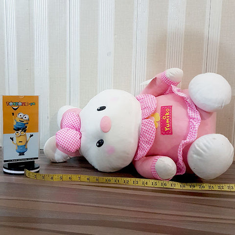 Image of Soft Stuffed Rabbit (Pink)