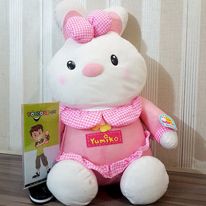 Soft Stuffed Rabbit (Pink)