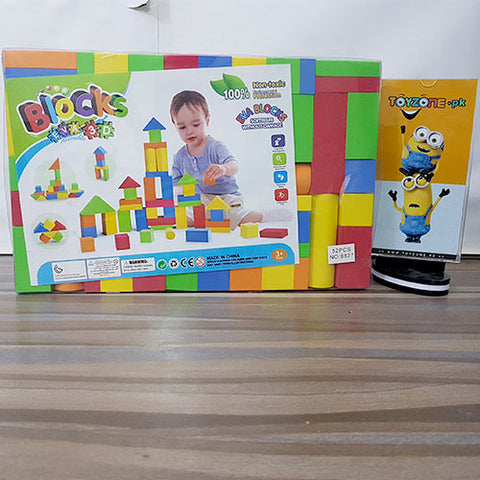 Educational Soft Foam Stacking Playtime Blocks (52 Pcs)