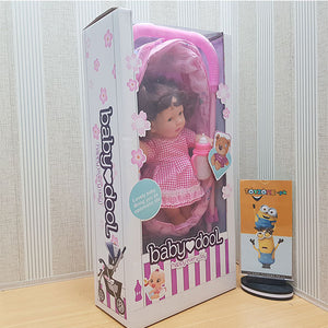 My First Baby Doll With Stroller