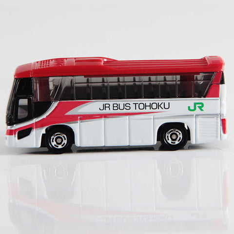 Image of Tomica Hino Selega JR Bus Tohoku Komachi color (box)