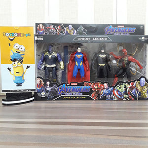 Heros Union Legend 4 Figures Playset