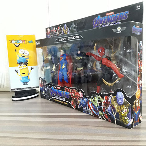 Image of Heros Union Legend 4 Figures Playset