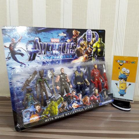 Image of Avenger Union Legend 5 Figures Playset