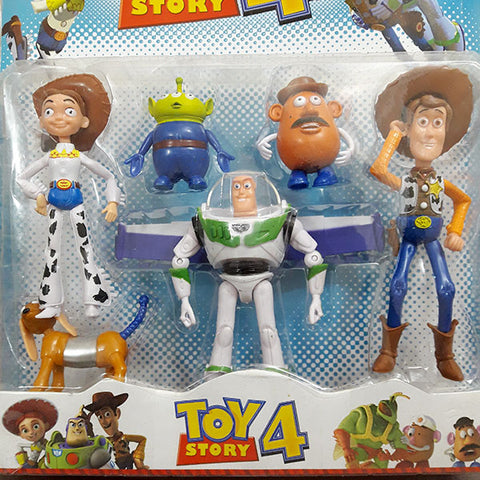 Image of Toys Story 4 Friends (Pack Of 5)