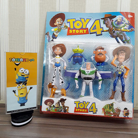 Toys Story 4 Friends (Pack Of 5)
