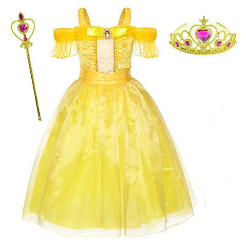 Image of Yellow Beauty Princess Costume