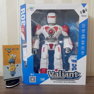 Valiant Infrared Radio Intelligent RC and Gesture Robot