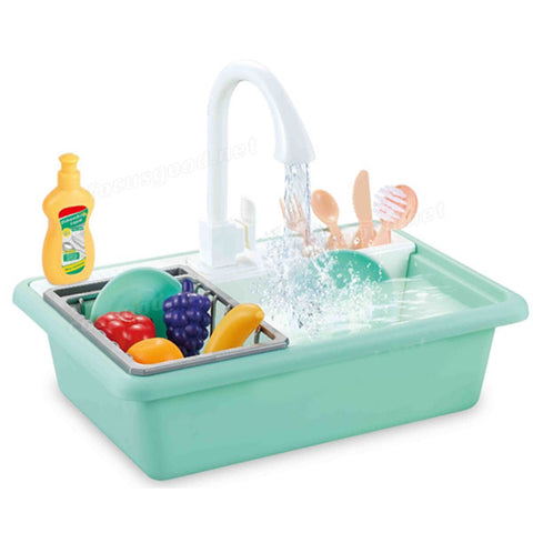 Wash-Up Electric Kitchen Play Sink