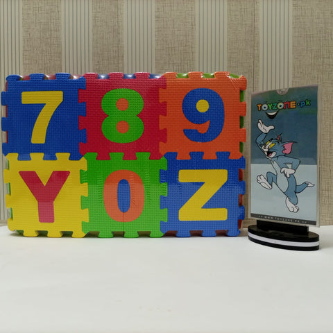 Multi-Functional Foam Mat 36 pcs ( Alphabetical & Numbers )