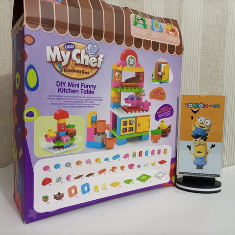 My Chef Kitchen Table Blocks 63PCS