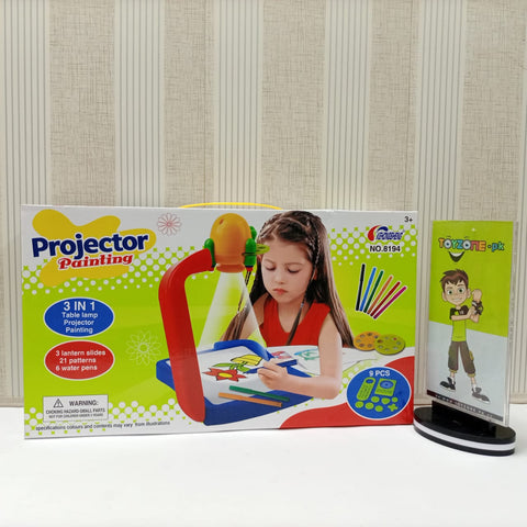 Drawing and Learning Projector For Kids  ( 3 in 1  )