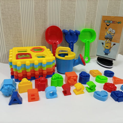 Image of Baby Blocks Shape Sorter Toy | Cube Box |