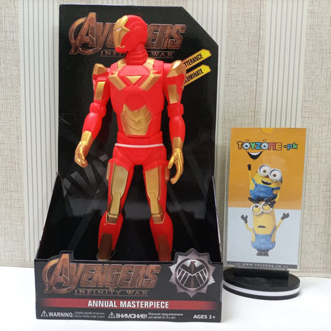 Iron Man Avenger Action Figure Movable Toy With Light and Sound