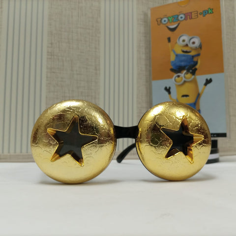 Image of Star Geometric Frame Fancy Sunglasses