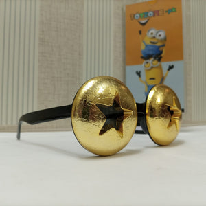 Star Geometric Frame Fancy Sunglasses