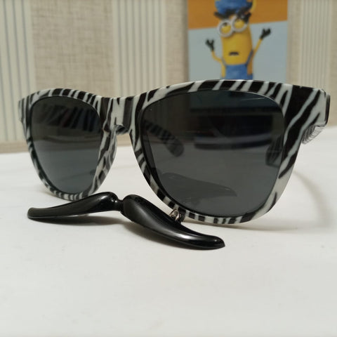 Image of Sunglasses with Mustache | Black |
