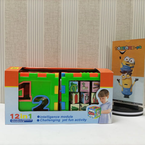 12-In-1 Intelligence Puzzle House for Kids Toy
